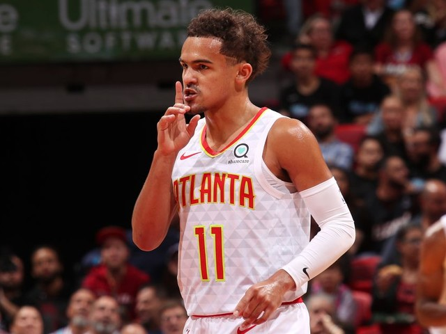 Trae Young got em (wherein 'em' is 'himself')
