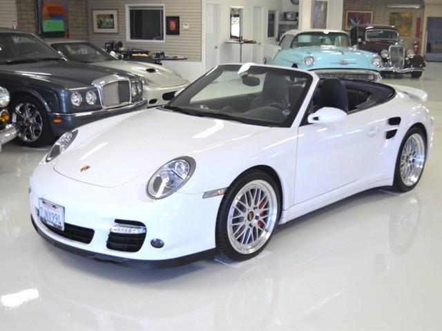 2008 Porsche 911--Turbo--Cabriolet