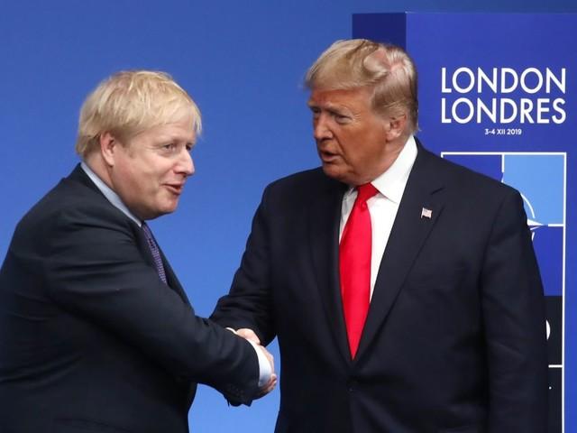 'Celebrate Boris!': Donald Trump Congratulates Boris Johnson On Thumping UK Election Victory