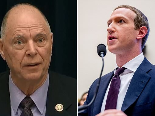 Republican Congressman pushes anti-vaxxer claims in questions to Mark Zuckerberg