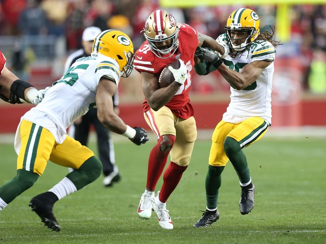 San Francisco 49ers marvel at ability to dominate the running game run vs. Green Bay Packers in NFC Championship game