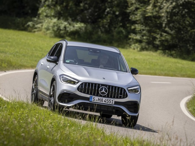 2021 Mercedes-AMG GLA 45 First Drive Review | Practical, potent, petite ... and pricey