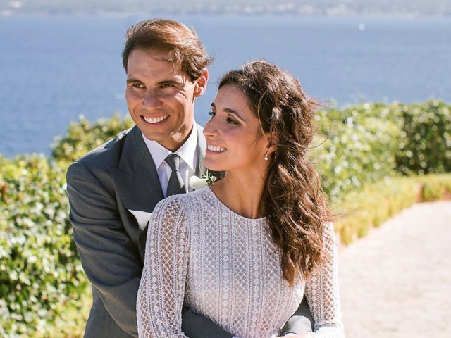 Rafael Nadal marries longtime girlfriend Xisca Perelló in stunning Spanish wedding