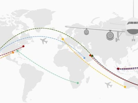 Mapping The World's Longest Non-Stop Flights