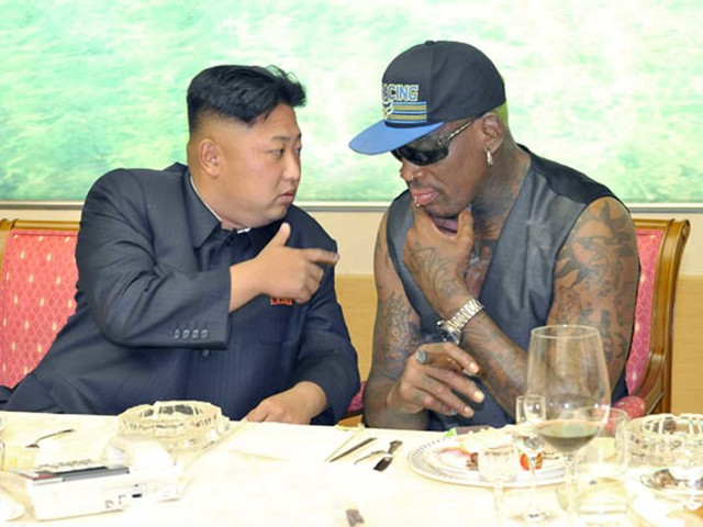 Dennis Rodman wants Trump to send him back to North Korea so he can cool tensions
