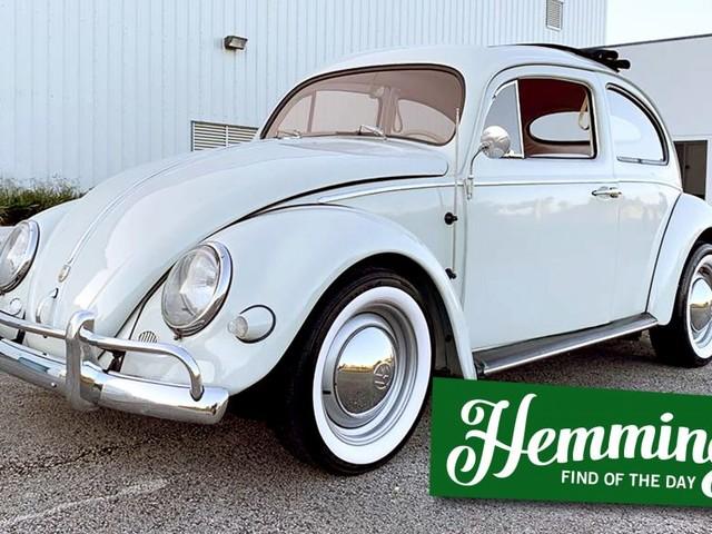 Hemmings Find of the Day: 1956 Volkswagen Beetle