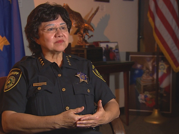 Dallas County Sheriff Lupe Valdez Announces Run For Governor