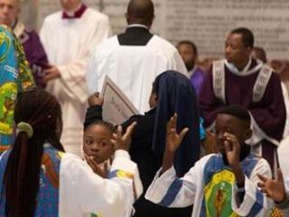 Joyous Congolese dances, songs enliven St. Peter's Basilica