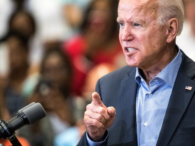 Joe Biden told a protestor at his Texas campaign rally that he's 'just like Donald Trump' for asking about corruption in Ukraine