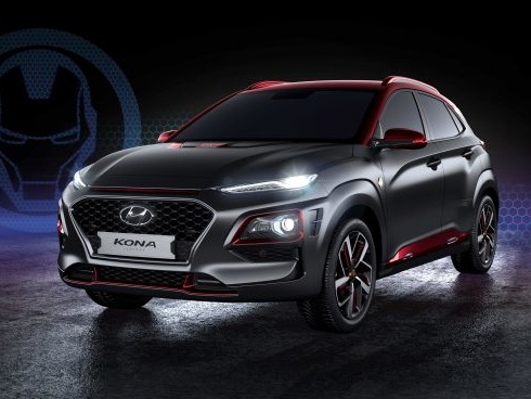 Nerd Alert! Hyundai Debuts Kona 'Iron Man Edition' at Comic-Con