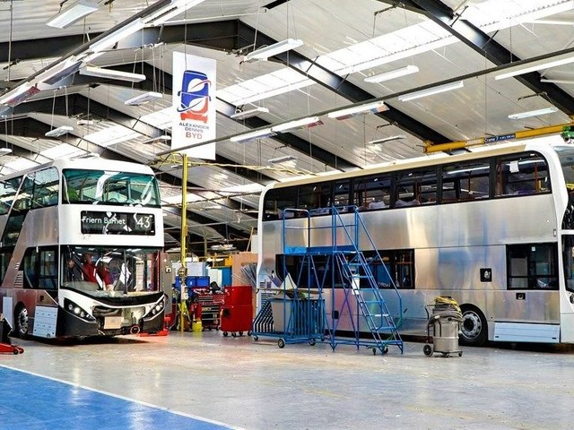 BYD ADL Partnership Accelerates Electrification With the Design & Assembly of Electric Bus Chassis in the UK