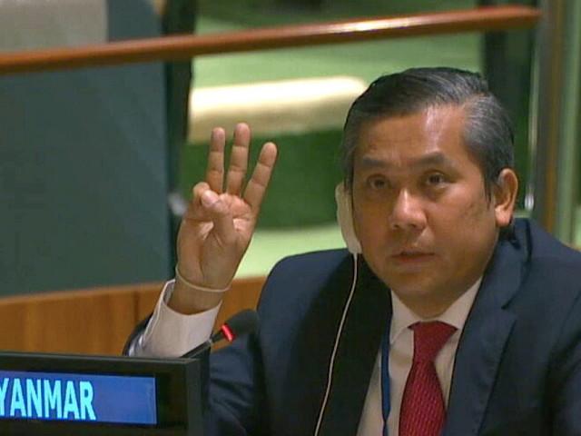 Possible Showdown Over Myanmar Ambassador Looms at U.N.