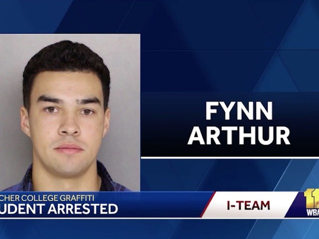 Fynn Arthur, Goucher College student, charged in race hoax: 'He has a lot of built-up anger'