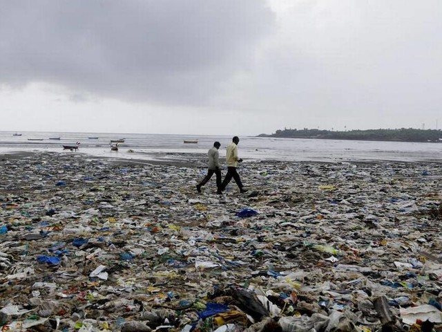 Humans have dumped tons of plastic into oceans. Now it's reached the deepest depths, study finds