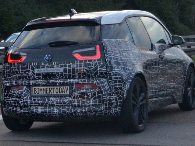 Sportier BMW i3 S Scooped Testing On The Autobahn