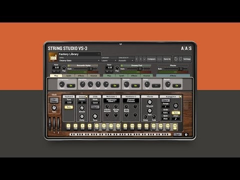 New Version Of AAS String Oscillator Synth