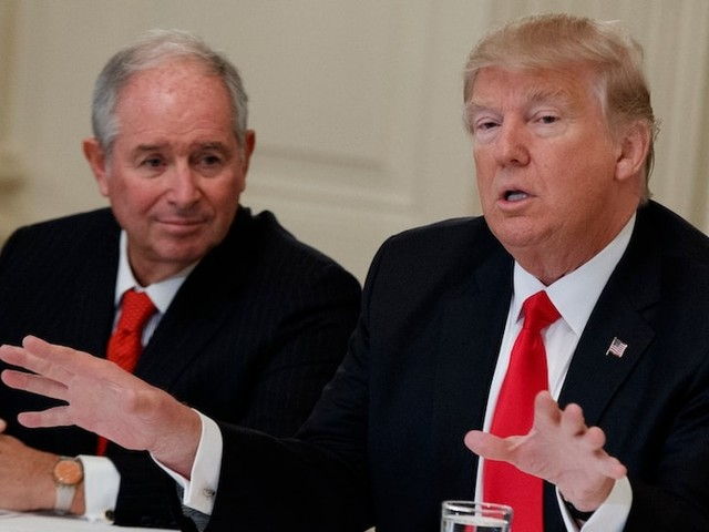 Blackstone CEO Schwarzman reportedly calls recession fears 'overblown.' The firm's chief strategist warns one may hit next year.