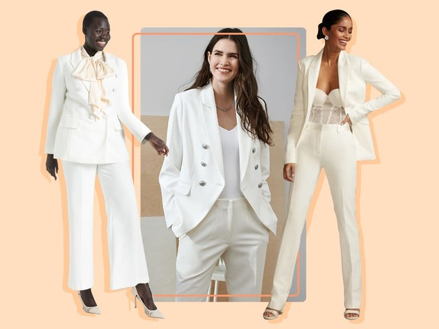 These 22 bridal suits are the perfect alternative to a dress for your wedding day