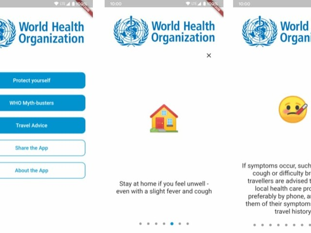 New WHO App With Tips and Alerts on COVID-19 to Launch Monday: Report