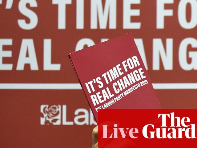 General election 2019: Corbyn tells voters to 'make sure their voice is heard' – live news