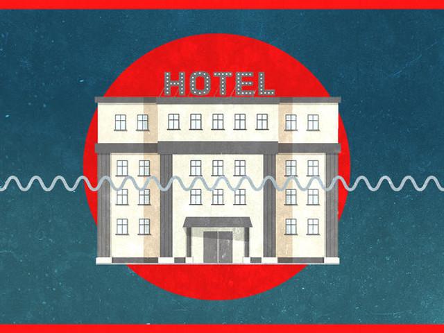 Half empty or half full? Hotel occupancy rate nears 50%