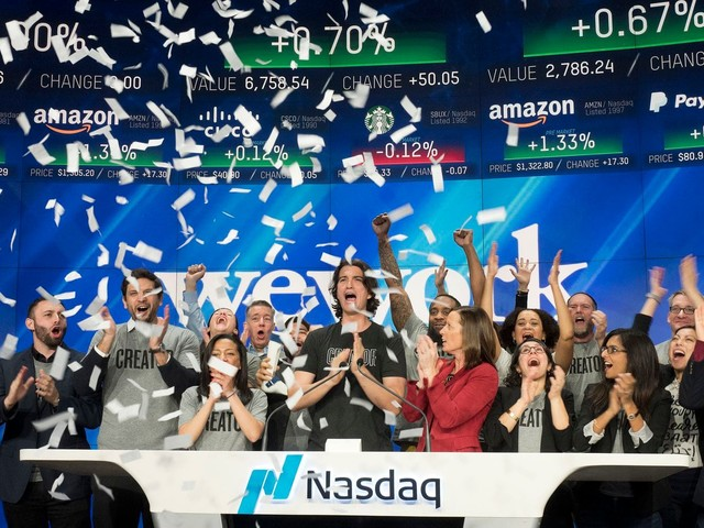 WeWork IPO filing follows uneven road for other companies going public