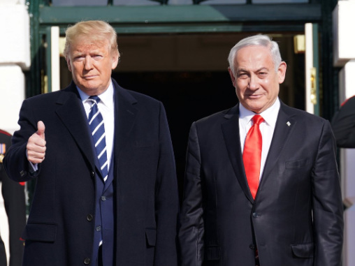 Trump Welcomes Netanyahu To White House; 'Deal Of The Century' To Be Unveiled Tuesday