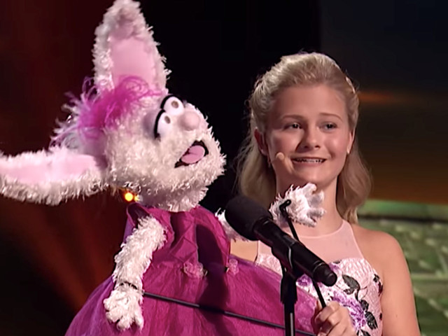 Ventriloquist Darci Lynne Sings Italian Opera On 'America's Got Talent: The Champions'