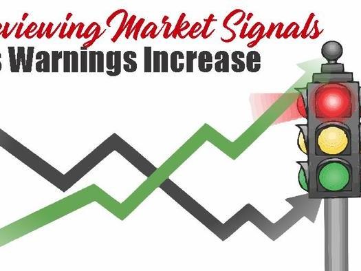 Reviewing Market Signals As Warnings Increase