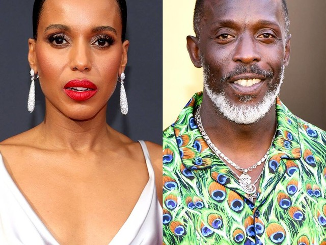 Kerry Washington Beautifully Honors Michael K. Williams at the 2021 Emmys 2 Weeks After His Death