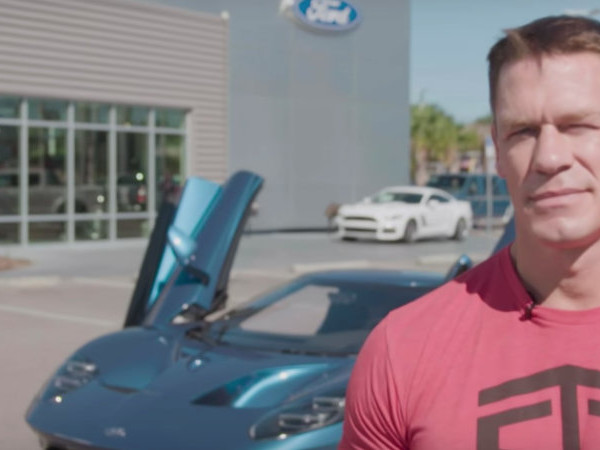 John Cena claims Ford never told him not to flip his GT for profit