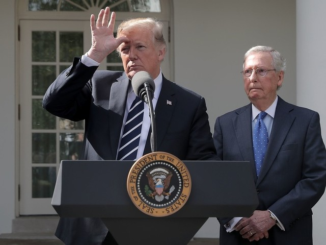 Trump says Moscow Mitch called Ukraine transcript 'the most innocent phone call' ever. Mitch?