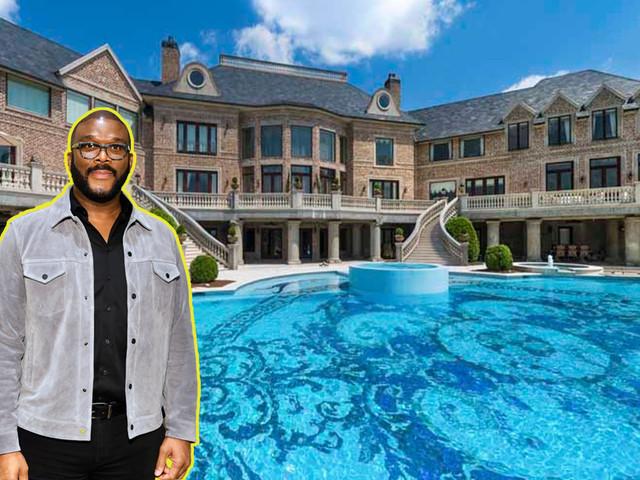 Steve Harvey buys the Tyler Perry mansion in Atlanta for $15 million