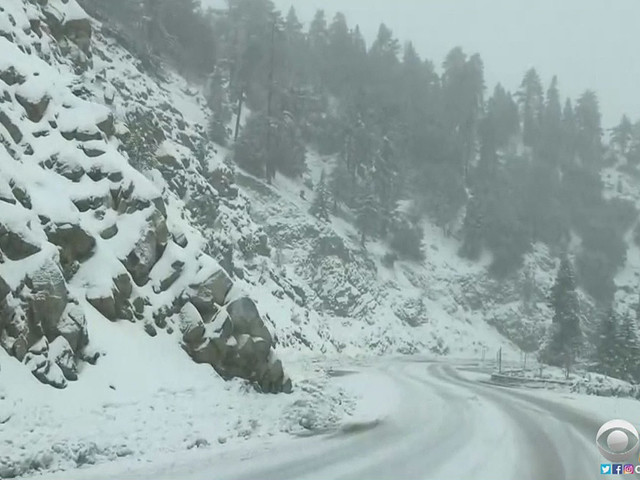 SoCal Mountains Reveling In Abundant Bounty Of Snow