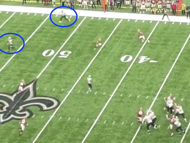 Drew Brees' record-setting touchdown was so easy, it's turned us into conspiracy theorists