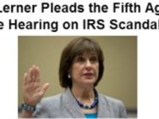 The 'I' in 'IRS' now stands for 'Irony' (as inspired by Lois Lerner)