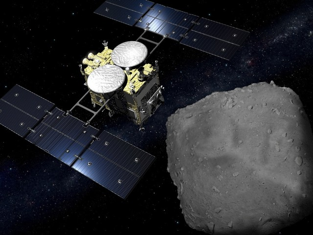 Japan's Space Probe on Its Way Back After Asteroid Mission