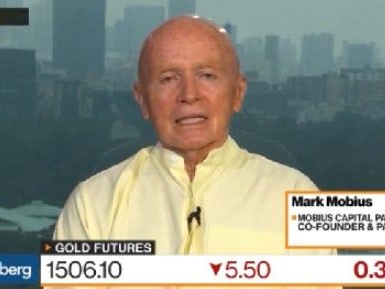 Mark Mobius: Buy Gold At Any Price
