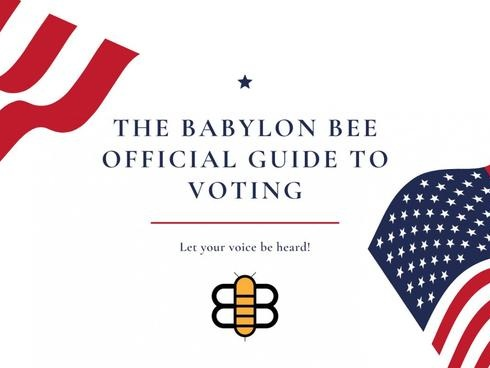 The Official Babylon Bee Voters' Guide