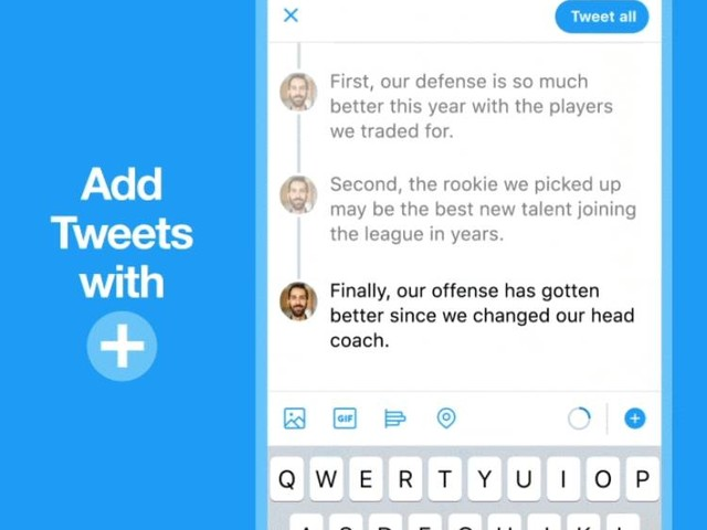 Twitter Rolls Out Its Tweetstorm Feature Called 'Threads'