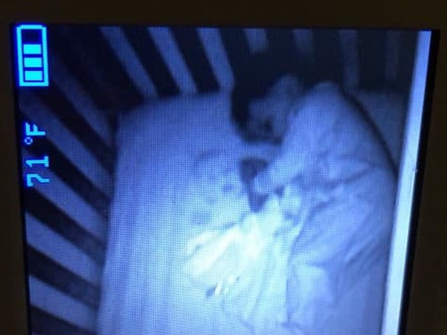 Mom freaked out by 'ghost baby' seen in bed with toddler son: 'I barely slept'
