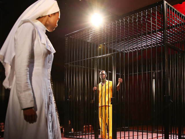 Review: In 'Measure for Measure,' Desperately Seeking Solutions in a Problem Play