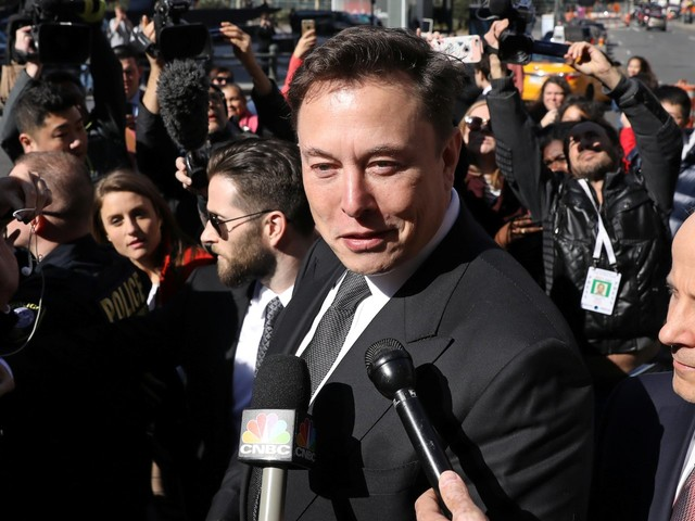 Elon Musk said he'll probably reach a new settlement with the SEC in the next 2 weeks (TSLA)
