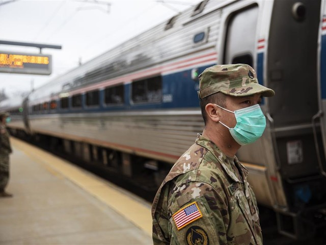 The National Guard Seeks Fleeing New Yorkers