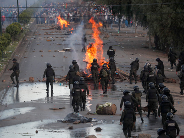 Death toll in Bolivian political clashes climbs higher