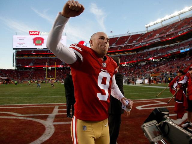 49ers' Gould didn't get Chicago, but he got the next-best thing