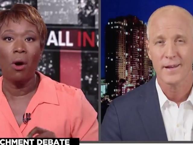 MSNBC's Joy Reid badgers Democratic Rep for not wanting to impeach Donald Trump