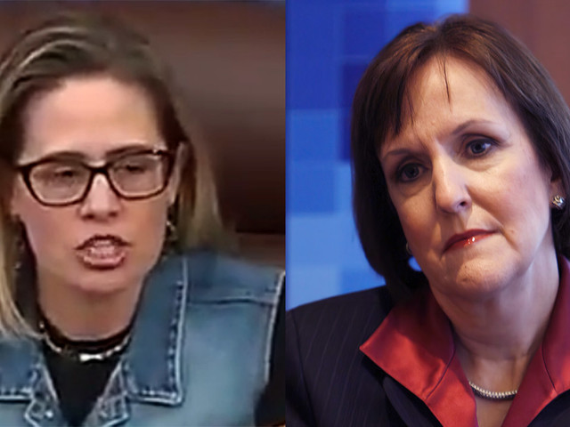 WaPo editor joins liberal critics targeting Kyrsten Sinema for wearing denim on Senate floor