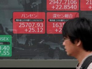 World shares gain on upbeat comment on China-US trade talks