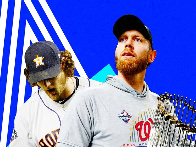 Gerrit Cole and Stephen Strasburg will cash in on their postseason dominance